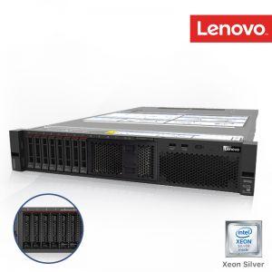 [7X04SGLG00] Lenovo ThinkSystem SR550 Xeon Silver 4210 10C 2.2GHz 1x16GB (1Rx4 1.2V) RDIMM 1x2.5 SATA/SAS 8-Bay 930-8i 2GB Flash PCIe 2x750W 3Yrs onsite