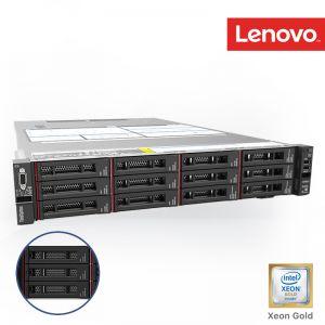 [7X06VS5X00] Lenovo ThinkSystem SR650 Xeon Gold 5215 10C 2.5GHz 1x16GB (2Rx8 1.2V) RDIMM '12/14 LFF SATA/SAS 930-16i 4GB Flash PCIe 2x1100W 3Yrs onsite