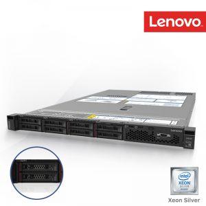 [7X08V3GV00] Lenovo ThinkSystem SR530 Xeon Silver 4210 10C 2.2GHz 1x16GB (1Rx4 1.2V) RDIMM 1x2.5 SATA/SAS 8-Bay 930-8i 2GB Flash PCIe 2x750W 3Yrs onsite