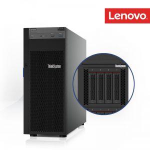 [7Y45S0JU00] Lenovo ThinkSystem ST250 Intel Xeon E-2124G 4+2C 71W 3.4GHz 1x 8GB RAID 530‑8i 2x2TB SAS 3.5-in HS 1x DVD‑RW 2x550W PSU XCC Std 3Yrs onsite