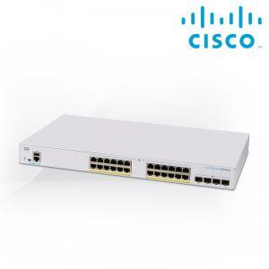 [CBS250-24PP-4G-EU] CBS250 Smart 24-port GE, Partial PoE, 4x1G SFP Limited Lifetime Hardware Warranty 5YR fr EOS