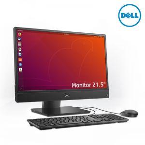 Dell Optiplex 5270 AIO 21.5-inch i3-9100 NT UMA 4G 1TB Ubutu WLAN Stand xDVD 3Yrsrs ProSupport