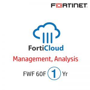 [FC-10-W060F-131-02-12] 1Yr FortiCloud Management, Analysis and 1 Year Log Retention for FWF 60F