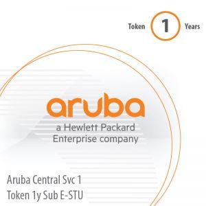 [JY928AAE] Aruba Central Svc 1 Token 1y Sub E-STU