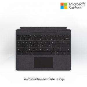 [QJX-00016] Surface Pro X Keyboard Thai Black Commercial 1Yr